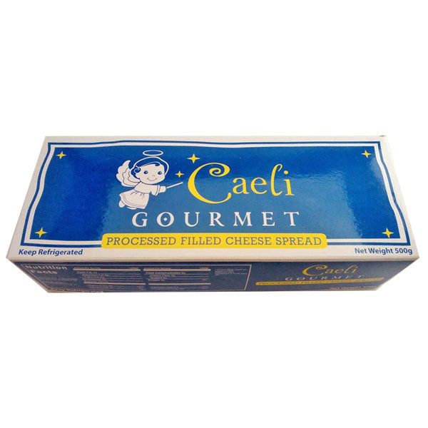 cheese spread 500g, caeli (product may melt during transit)