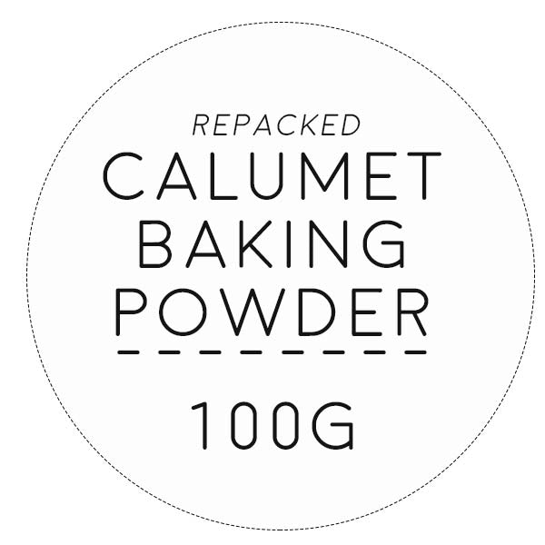 baking powder 100g, calumet (repacked)