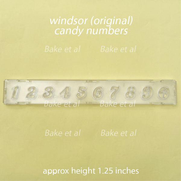 clikstix candy number cutter, windsor