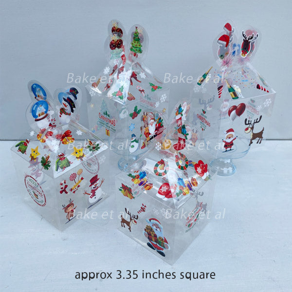 christmas box ACETATE (20pcs)