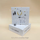 christmas box WHITE (20pcs)
