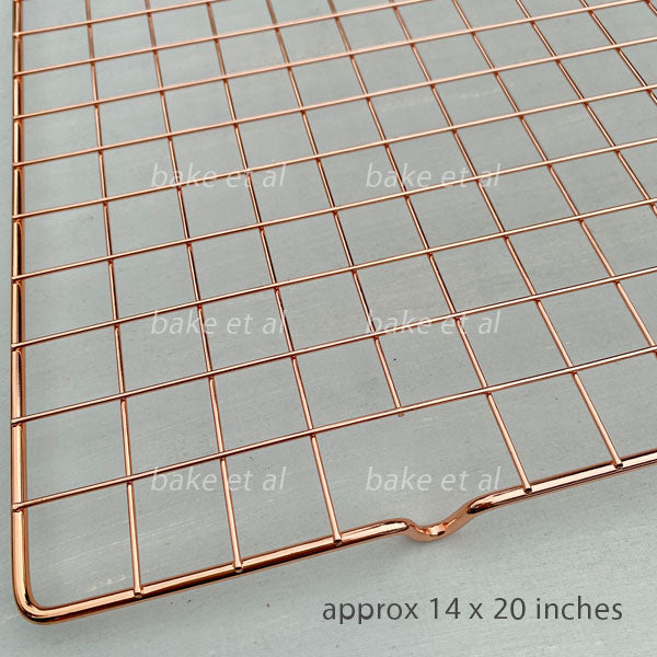 cooling rack rose gold