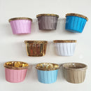 baking cups (approx )1oz gold foil 100pcs