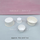 baking cups white (100pcs)