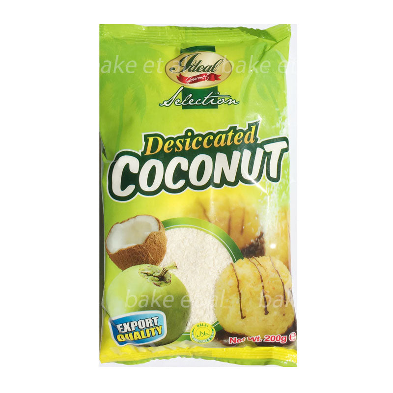 dessicated coconut 200g, ideal