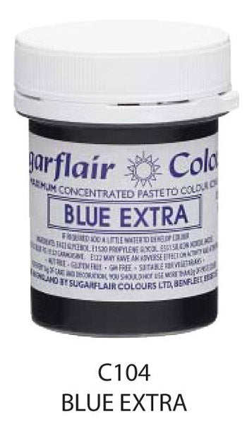 blue extra paste 42g, sugarflair