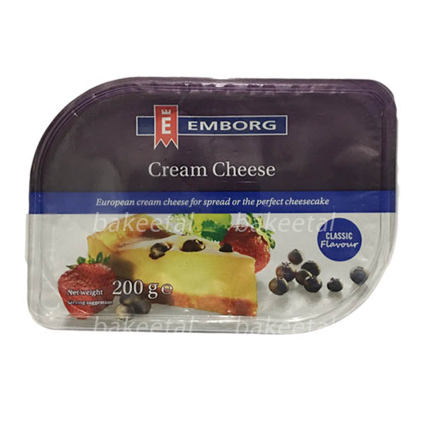 creamcheese spreadable 200g, emborg (product may melt during transit)