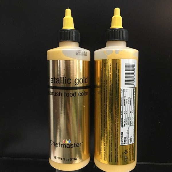 gold 9oz airbrush, chefmaster