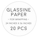 glassine paper 20pcs
