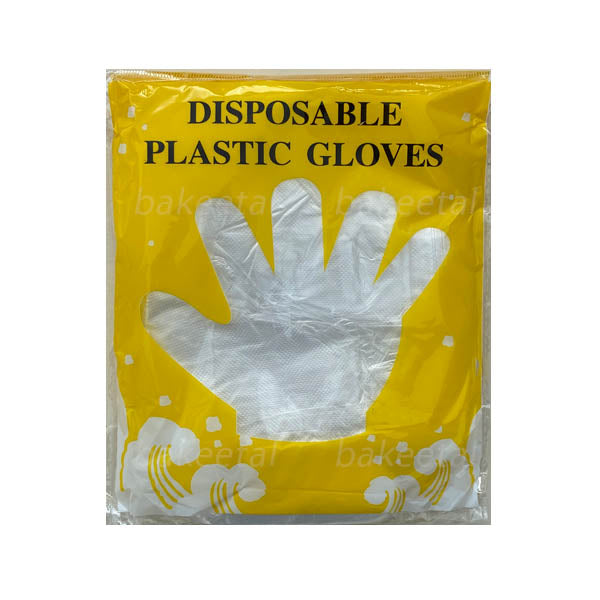 gloves plastic 100pcs (approx) disposable