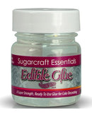edible glue 25ml, rainbow dust