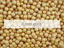 dragees gold 5mm