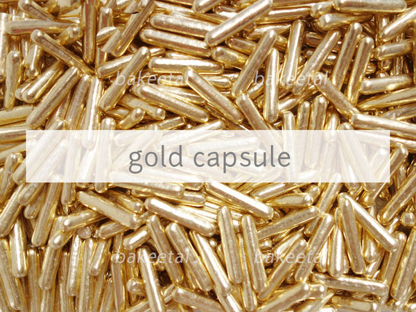 dragees gold capsule 22mm