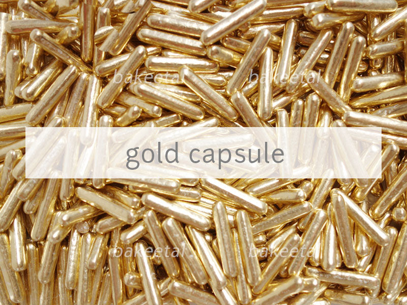 dragees gold capsule