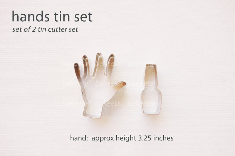 hands tin cutter set