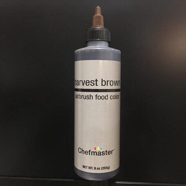 brown 9oz airbrush, chefmaster
