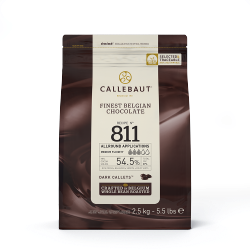 dark couverture 250g, callebaut (weather sensitive)