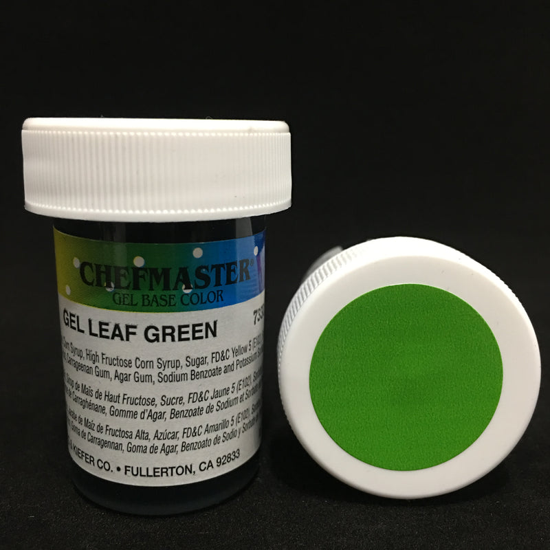 leaf green, chefmaster gel