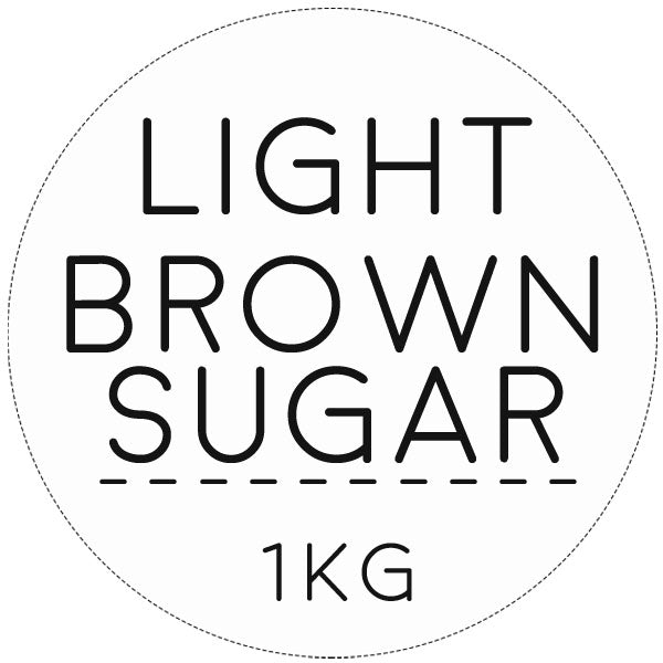 sugar, light brown 1kg
