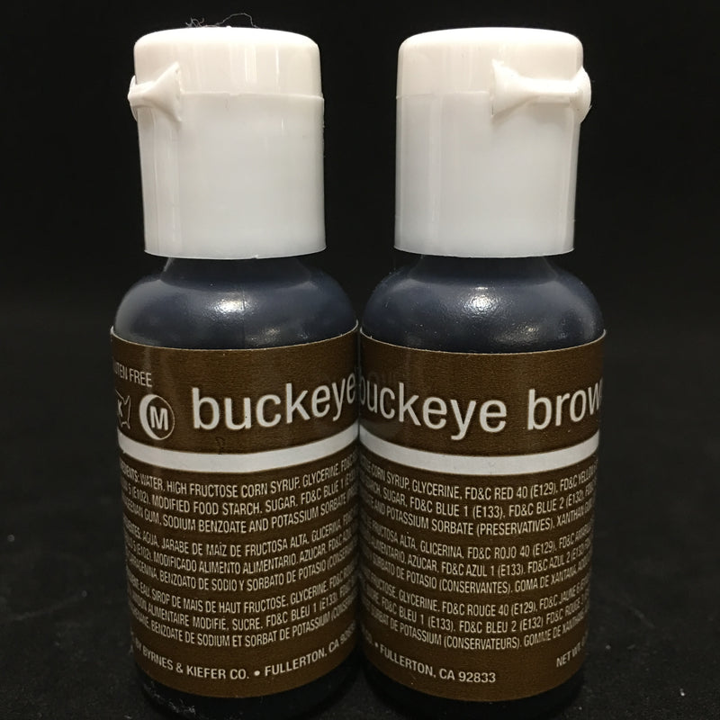 buckeye brown liqua gel .7oz, chefmaster