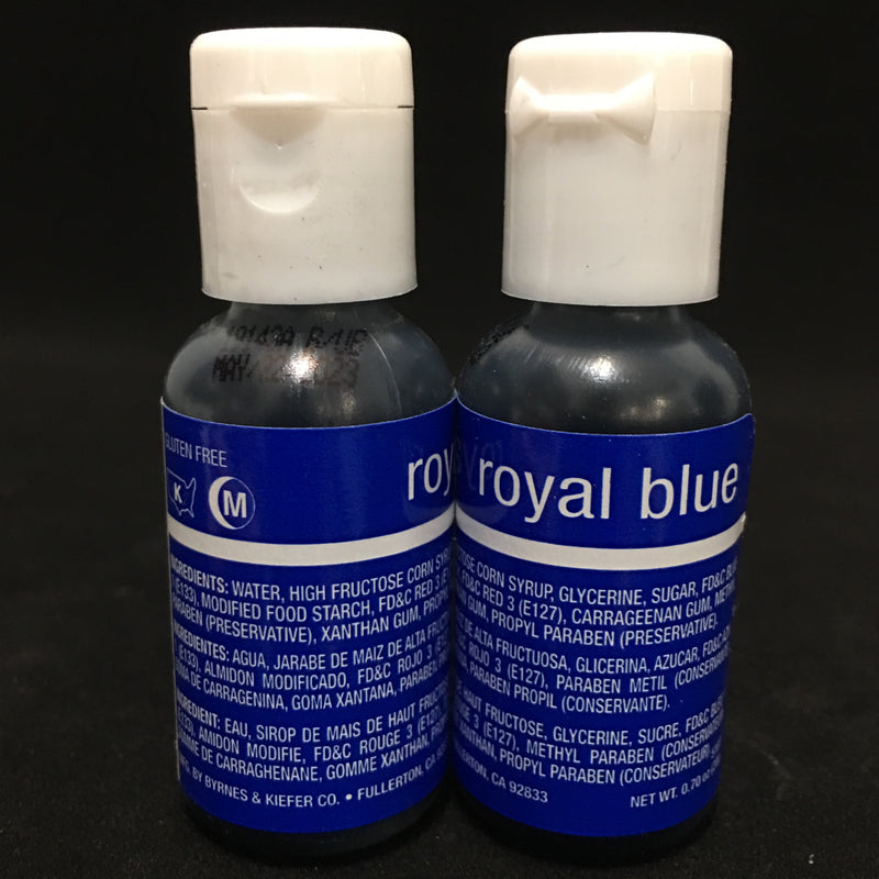 royal blue, chefmaster liquagel