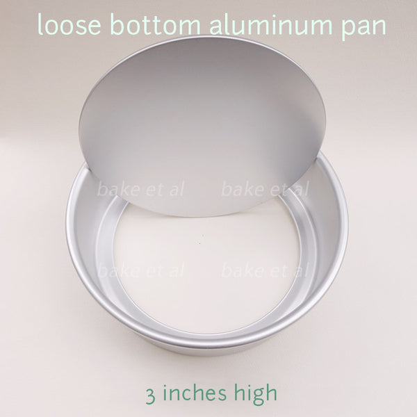 loose bottom pan