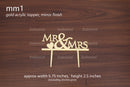 acrylic mr & mrs 1