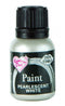 pearl white metallic paint 25ml, rainbow dust