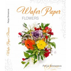 wafer paper flower book