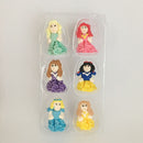 royal icing topper princess 3D