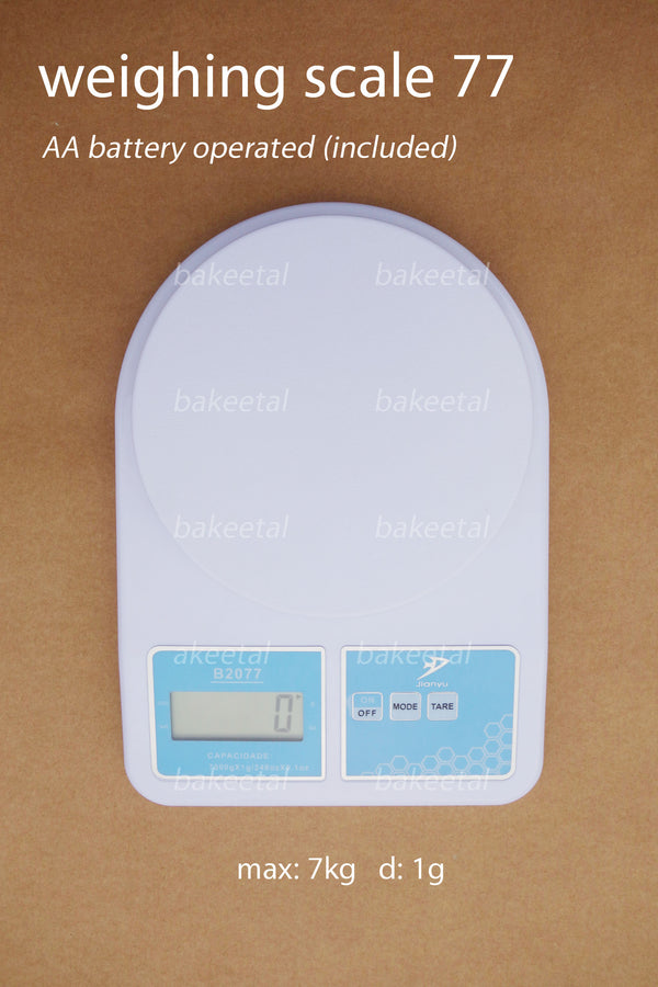 weighing scale 77