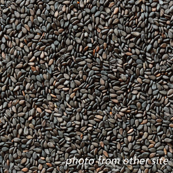 sesame seeds black 50g