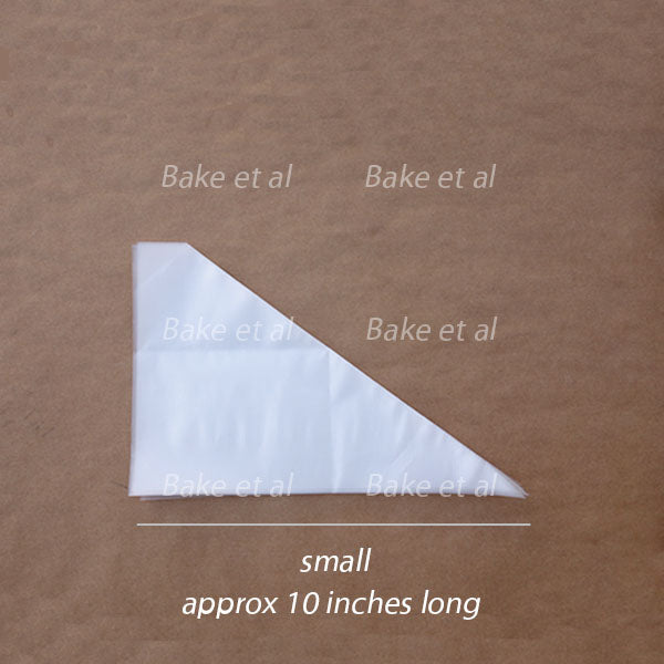 piping bag disposable, small