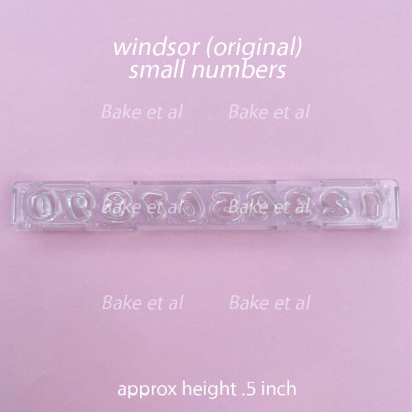 clikstix small number cutter, windsor