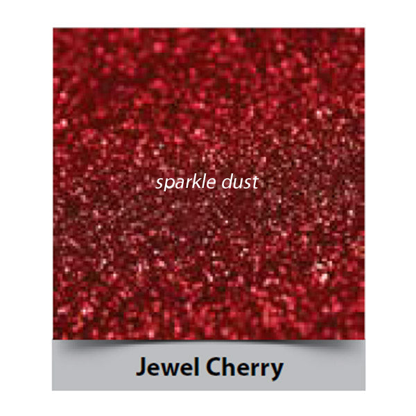 cherry jewel sparkle, rainbow dust