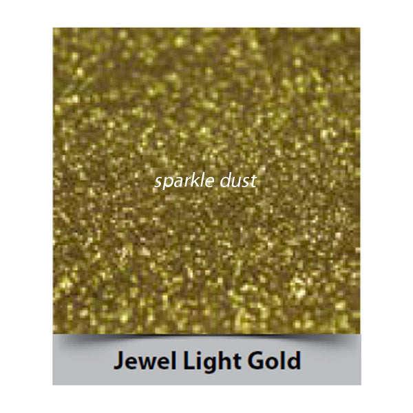 jewel light gold sparkle, rainbow dust