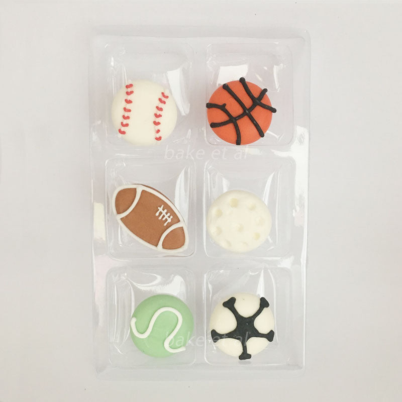 royal icing topper sportsball