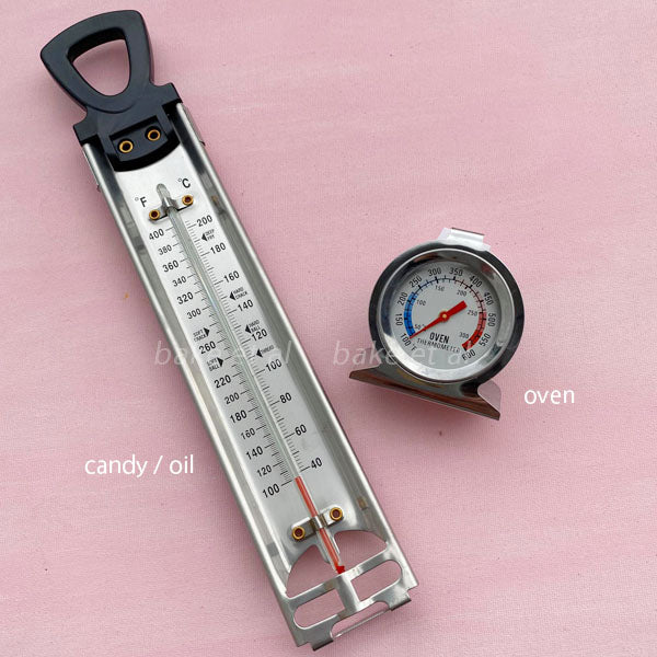 oven & candy thermometer