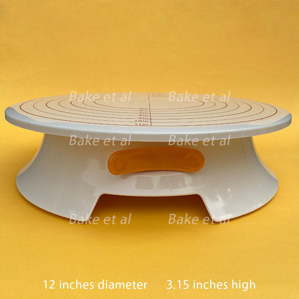 turn table with brake