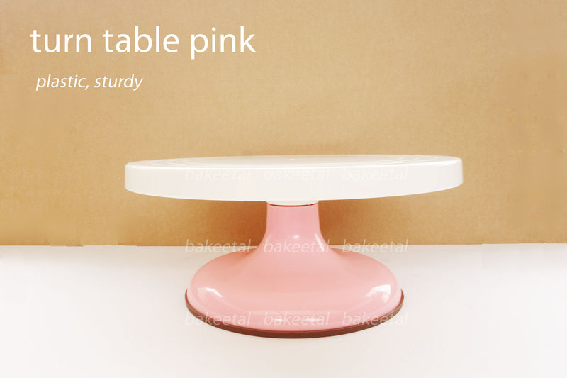 turn table pink