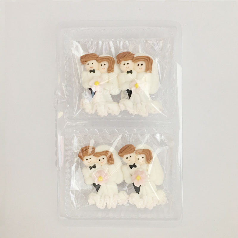royal icing topper wedding