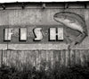 Old Fish Market Sign, Halifax - Nova Scotia