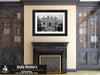 New Orleans Louisiana, Garden District, Black and White Photo, Framed Print