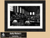 Black & White Photography, Boston Public Library, Bates Hall, Boston Massachusetts Photo - Black and White Photography by Andy Moine
