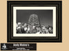 Hollywood California, Black and White Photography, Capitol Records Building, Wall Mural - Black and White Photography by Andy Moine
