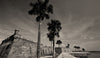 Castillo De San Marcos, St Augustine Florida, Black & White Photo