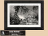 Commanders Palace Restaurant, New Orleans Garden District, Black & White Photo, Framed Print