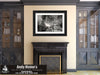 Commanders Palace Restaurant, Garden District, Black & White Photo, Framed Print