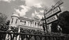 The Cornstalk Fence Hotel, French Quarter, New Orleans Louisiana, Black & White Photograph - Black and White Photography by Andy Moine