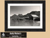 Dove Lake, Cradle Mountain Tasmania, Australia - Black and White Photo - Black and White Photography by Andy Moine